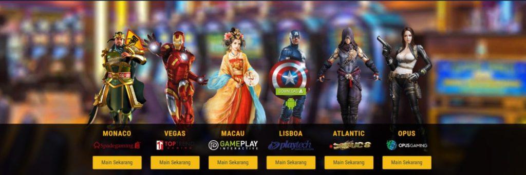 Berbagai Macam Permainan Judi Mahabet Slot